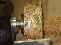wood turning endgrain image