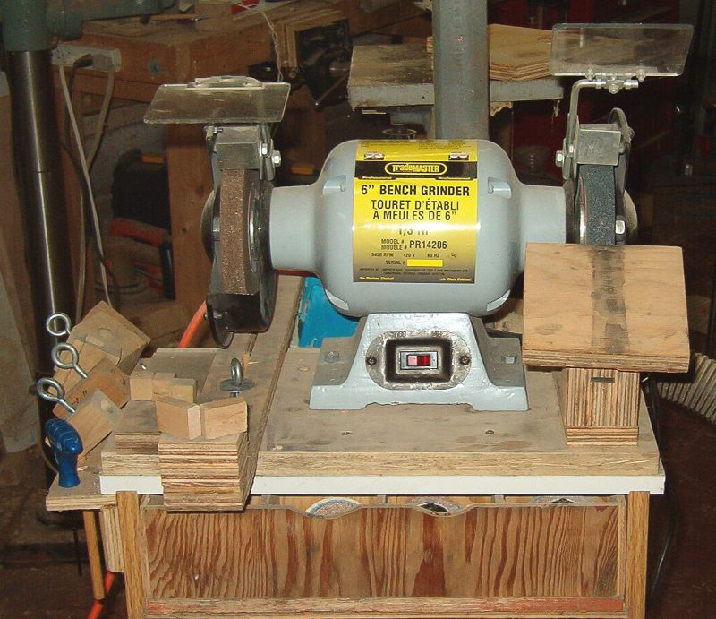 sharpening wood lathe tools