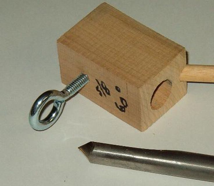 Sharpening Wood Turning Tools Make A Jig
