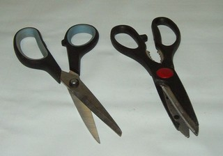 wood turning scissor tips
