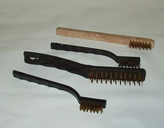 wood shop metal brushes